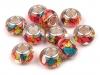 Plastové korálky s velkým průvlekem 9x14 mm (1 ks)