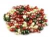 Voskované perly mix velikostí kapka Ø7-15 mm (50 g)