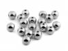 Plastové korálky Glance / perly Metalic Ø8 mm (10 g)