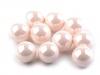 Dekorační kuličky / perly bez dírek Ø10 mm lesklé (10 ks)