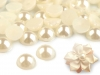 Půlperle / perly k nalepení Ø9 mm (20 ks)