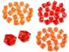 Plastové korálky broušené kostka 12x12 mm (20 ks)