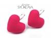 Náušnice srdce (1 pár)