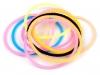 Svítící silikonové gumičky (10 ks)