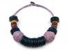 Dřevěný náhrdelník etno (1 ks)