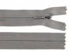 Spirálový zip skrytý šíře 3 mm délka 20 cm (1 ks)