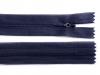 Spirálový zip skrytý šíře 3 mm délka 55 cm Dederon (1 ks)