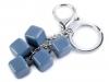 Přívěsek na kabelku / klíče kostka (1 ks)