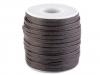 Šňůra / dutinka bavlněná plochá šíře 4 mm voskovaná (25 m)