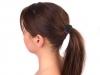 Gumička do vlasů se sponou (1 ks)