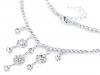 Štrasový náhrdelník - jablonecká bižuterie (1 ks)