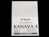 Vyšívací tkanina Kanava 4 bílá 20x30 cm (1 ks)