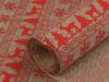 Dekorační metráž imitace juty šíře 48 cm vánoční (4.5 m)