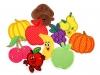 Nažehlovačka ovoce a zelenina (10 ks)