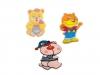 Nažehlovačka postavičky dětí, zvířátek (10 ks)