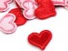 Nažehlovačka srdce (20 ks)