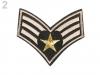 Nažehlovačka army (3 ks)