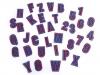 Nažehlovačka písmena / čísla (10 ks)