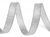 Stuha Paula šíře 10 mm s lurexem (22.5 m)