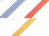 Samolepící textilní páska šíře 15 mm (1 ks)