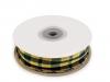 Károvaná stuha šíře 26 mm (22.5 m)