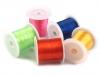 Pruženka / gumička plochá barevná 1 mm (5 ks)