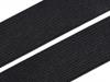 Pruženka hladká šíře 25 mm tkaná černá (25 m)