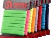 Prádlová pruženka na kartě šíře 7 mm barevná (1 karta)