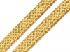 Leonský prýmek zlatá / stříbrná (13.5 m)