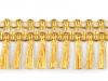 Leonské třásně zlaté šíře 45 mm (13.5 m)