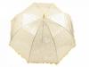 Dětský průhledný vystřelovací deštník s volánkem (1 ks)