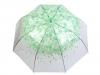 Dámský průhledný vystřelovací deštník (1 ks)