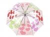 Dívčí průhledný vystřelovací deštník (1 ks)