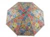 Dětský vystřelovací deštník sovičky s píšťalkou (1 ks)