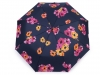 Dámský skládací vystřelovací deštník květy (1 ks)