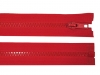 Kostěný zip šíře 5 mm délka 45 cm bundový (1 ks)