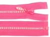 Kostěný zip šíře 4 mm délka 65 cm se štrasovými kamínky (1 ks)