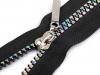 Duhový kostěný zip šíře 5 mm délka 60 cm (1 ks)