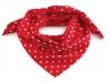 Bavlněný šátek 65x65 cm s puntíky (1 ks)