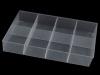 Plastový zásobník 53x205x320 mm (1 ks)