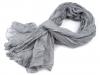 Mačkaný šátek 100x185 cm (1 ks)