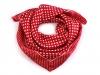 Saténový šátek s puntíky 47x47 cm (1 ks)