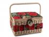 Košík na šicí potřeby čalouněný (1 ks)
