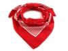 Bavlněný šátek s puntíky 70x70 cm (1 ks)