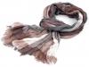 Mačkaný šátek károvaný 90x195 cm (1 ks)