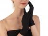 Společenské rukavice 23 cm dámské (1 pár)