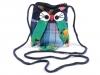 Dětská taška sova 12x17 cm (1 ks)