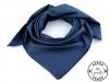 Bavlněný šátek jednobarevný 65x65 cm (1 ks)