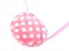 Dětská kabelka plyšová s puntíky (1 ks)