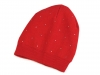 Dětská pletená čepice s kamínky (1 ks)